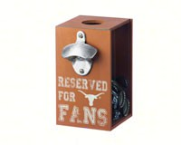 Texas Longhorns Bottle Opener Cap Caddy-EG8BC999A