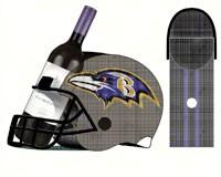 Baltimore Ravens Cork and Bottle Holder-EG8BCHH3802