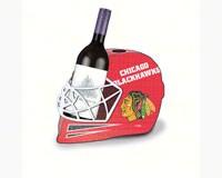 Chicago Blackhawks Cork and Wine Bottle Holder-EG8BCHH4355
