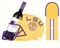 LSU Cork and Wine Bottle Holder-EG8BCHH921