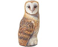 Barn Owl Door Stop-FE130