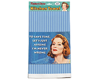 To Save Time Towel-FE827