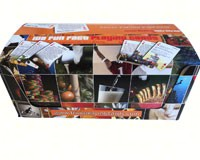 Orange Double Deck Display (free with orders of 12)-FFDISOR