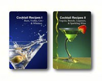 Double Deck Cocktail Recipes Playing Cards-FFPCGT019