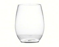 12 oz Stemless Goblet - Clear-FINE2712CL