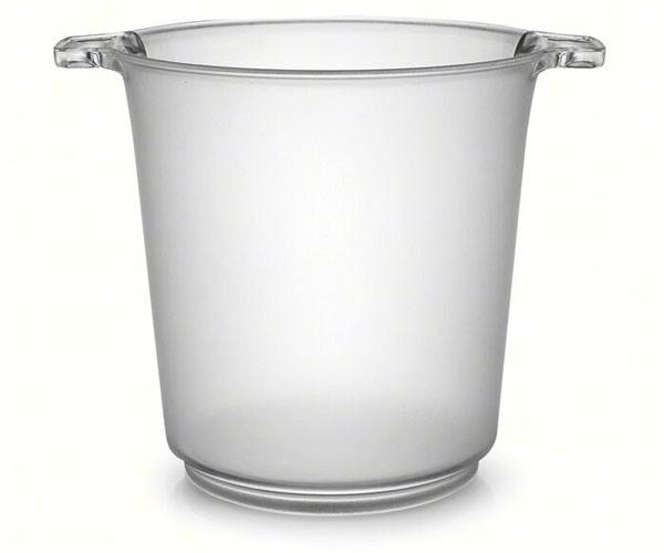 1 Gallon Ice Bucket Clear