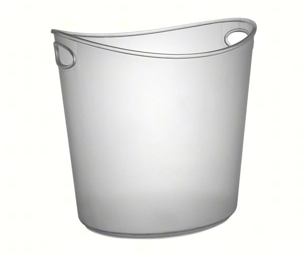 1 Gallon Oval Ice Bucket Cl