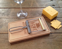 Oh Snap! Mousetrap Cheese Set-FRED5151913