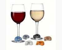 Wine Lives - Kitty Wine Markers-FRED5152925