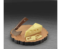 Cheese Log - Board & Knife Set-FRED5170924
