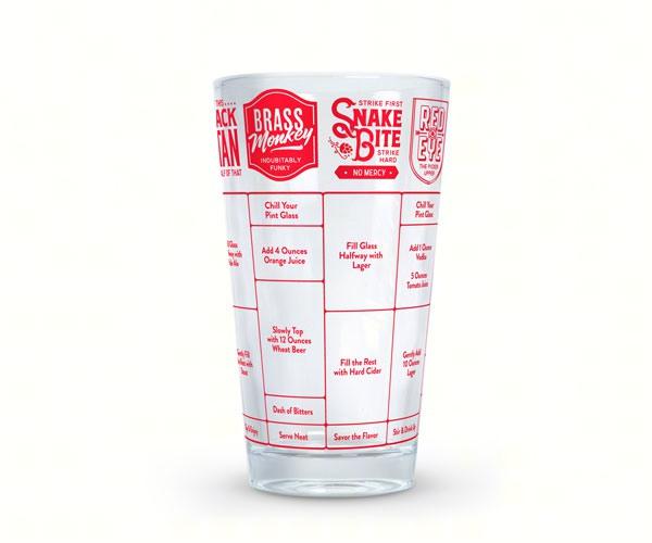 Good Measure Beer Recipe Glass