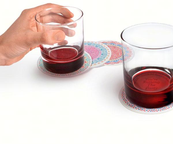 Decoder Drinks - Glass Coaster Set - 2