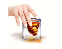 Doomed Skull Shot Glass-FREDDOOM