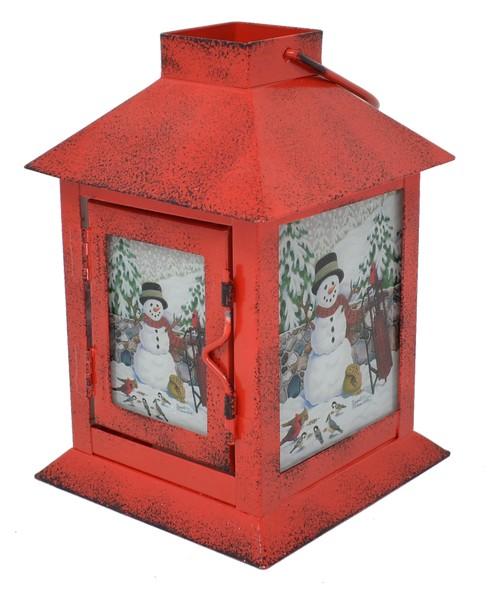 Cobane Stonewall Snowman Lantern