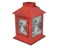 Cobane Stonewall Snowman Lantern-GE1005