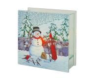Cobane Stonewall Snowman Lightbox-GE1020