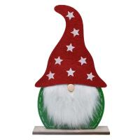 Medium Red & Green Felt Gnome-GE1025