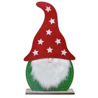 Large Red & Green Felt Gnome-GE1026