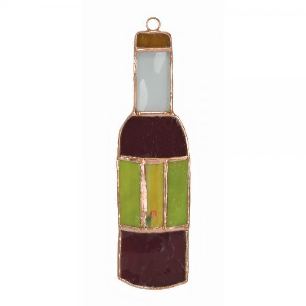 Wine Bottle Suncatcher GE122'