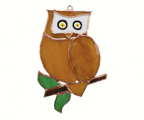 Owl Suncatcher GE194'