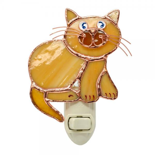 Tan Cat Nightlight GE257'