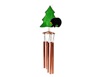 Black Bear withTree Wind Chime-GE286