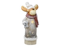 LED Holiday Moose Door Greeter-GE3009