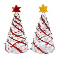 Blown Glass Trees Salt & Pepper Sets-GE3021