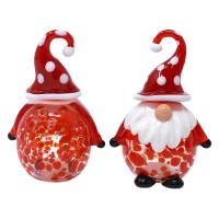 Blown Glass Gnomes Salt & Pepper Set-GE3022