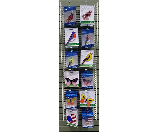 Stained Glass Everyday Nightlight and Suncatcher Display Panel