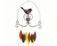 Bird & Heart Chime-GEBLUEG424