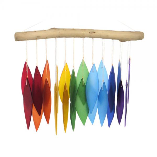 Rainbow & Driftwood Windchime GEBLUEG442'