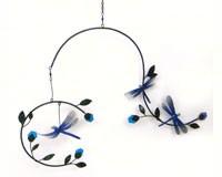 Dragonflies & Blossoms Mobile GEBLUEG474