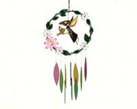 Garden Angel withLarge Flowers Windchime GEBLUEG508