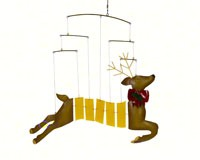 Reindeer Mobile GEBLUEG514