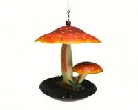 Mushroom Bistro bird feeder GEBLUEG536F