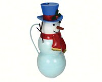 Snowman Watering Can-GEBLUEG550