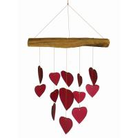 Red Heart Driftwood Chime GEBLUEG563