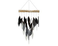 Shade of Grey Waterfall Chime-GEBLUEG586