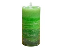 LED Green Wax Candle Fountain-GECF005