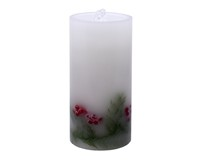 LED Holly Berry Candle Fountain-GECF011