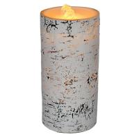 LED Birch Wax Candle Fountain-GECF014
