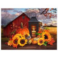 Fall Lantern 1000 Piece Puzzle-GEP100
