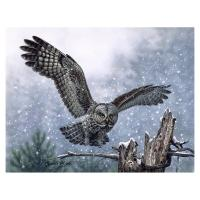 Snowy Landing 1000 Piece Puzzle-GEP103