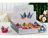LED Lighted Butterfly Teallite with Display-GIFT467684