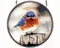 Mad Bluebird Suncatcher-GM1012