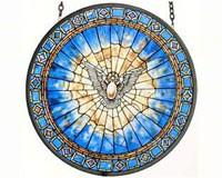 Holy Spirit Roundel Suncatcher-GM1013