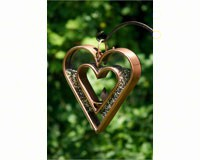 Fly-Thru Heart Venetian Bronze-GOOD113VB