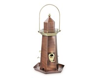 Lighthouse Bird Feeder - Copper-GOODBF302VB