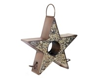Star Bird Feeder - Copper Finish-GOODBF303VB